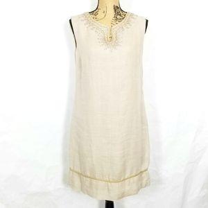 Ann Taylor Loft 100% Linen Dress